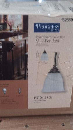 Progress Lighting Mini Pendent for Sale in Bunker Hill,  WV