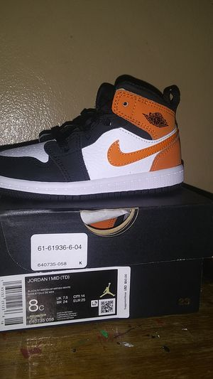 Jordan 1 MID(TD) for Sale in Fresno, CA