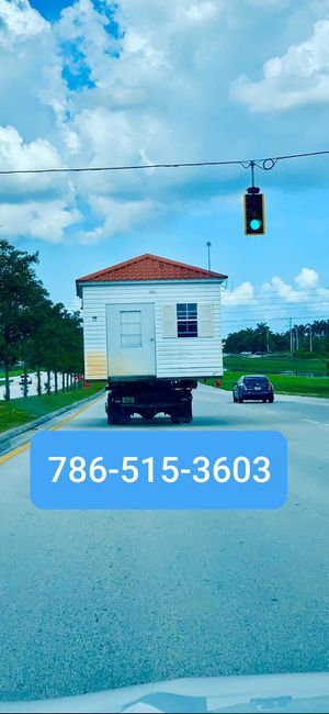 Sheds relocated,, movemo casita de patio Rv container for Sale in Miami Gardens, FL