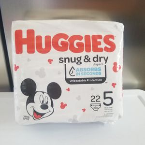 Huggies Size 5 for Sale in Ontario, CA