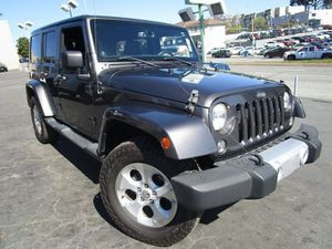 2014 Jeep Wrangler Unlimited for Sale in Daly City, CA