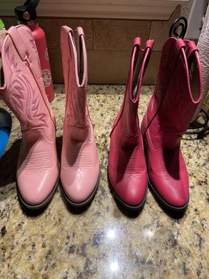 Girls cowboy boots for Sale in Spring, TX