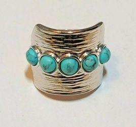 Lia Sophia Turquoise Ring for Sale in Barnegat Township,  NJ
