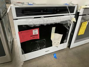 """New! White Whirlpool 30"""" Single Wall Oven! 1 Year Manufacturer Warranty Included for Sale in Chandler, AZ"""
