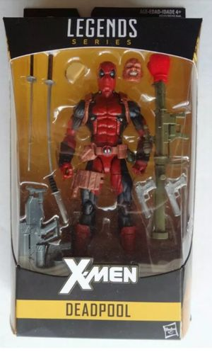 Marvel Legends X-Men Deadpool Collectible Action Figure Toy From Juggernaut Build a Figure Wave for Sale in Chicago, IL