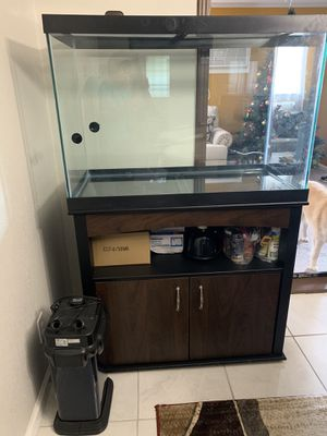 Tank with filter and stand for Sale in San Antonio, TX