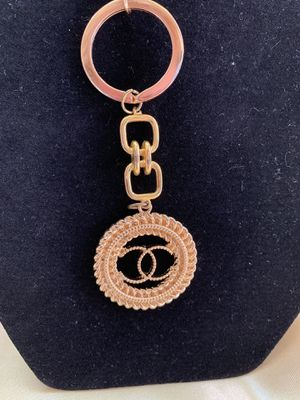 Gold Color Handmade Keychain. Cha-Co-Co Design. for Sale in Houston, TX
