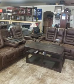 .. Sofa And Loveseat.. Reclining Living Room Set. Delivery Available for Sale in Austin,  TX