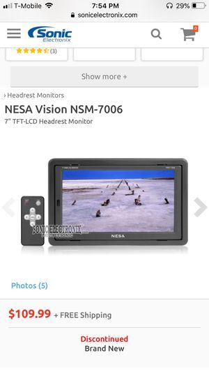 Nesa vision nsm-7006 monitors for Sale in Boston, MA