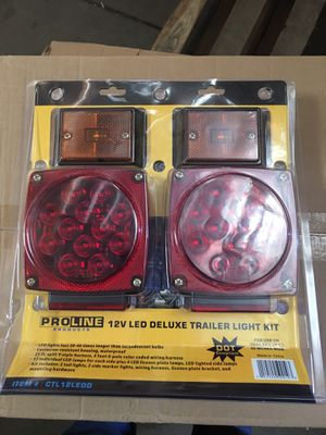 New led waterproof submersible trailer light kit for Sale in Ontario, CA