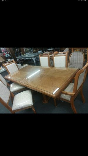 High End Giuseppe Arceses dining Room table/6 chairs, excellent condition! 81x42x31 tall..Imported from Italy 😲on sale $395.. for Sale in Joliet, IL