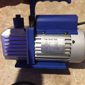 YJII 3 CFM Single Phase Vacuum Pump for Sale in Lithonia, GA
