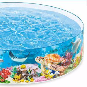 Deep blue sea. 8FT x 18in intex snapset pool for Sale in Los Angeles, CA