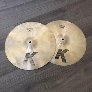 """Zildjian 14"""" K Light Hi Hats for Sale in Glendale, AZ"""