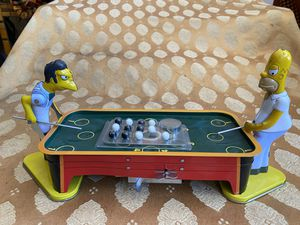 The Simpsons Tin Pool Table 2002 Rocket USA Moe's Tavern for Sale in La Habra, CA