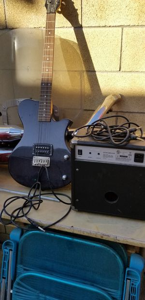 Electric Guitar and amplifier for Sale in Pico Rivera, CA