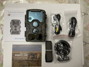 Trail Camera, 2018 Upgraded Distianert 720P 12MP Hunting Game Camera, Wildlife Camera with Upgraded 850nm IR LEDs Night Vision 65ft, IP66 for Home Se for Sale in Fontana, CA