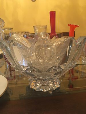 Crystal bowl decoration for Sale in North Potomac, MD