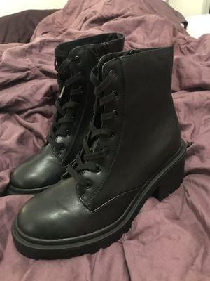 Women's Black Combat boots for Sale in Scottsdale, AZ