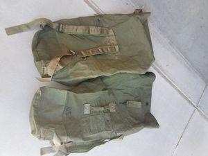 U.s. military deployment duffle bag backpacks for Sale in Queen Creek, AZ
