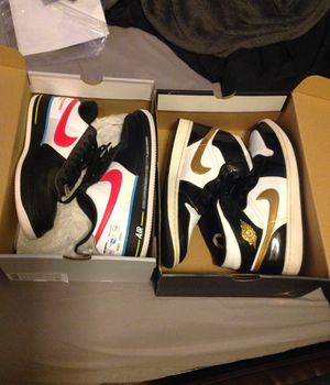 2 pairs of Nike sneakers for Sale in Gilbert, AZ