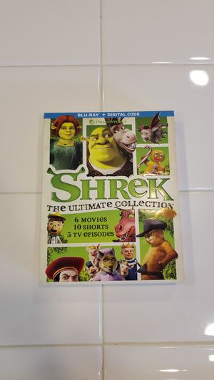 Shrek The Ultimate Collection Blu-Ray for Sale in Rancho Cucamonga, CA