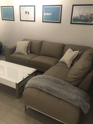 Carlo Perazzi 2 year old couch - original price $1299 for Sale in Miami, FL
