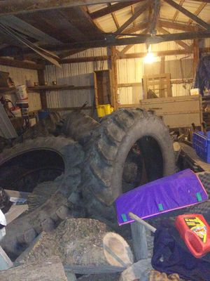 Large tractor tires for Sale in Edelstein, IL