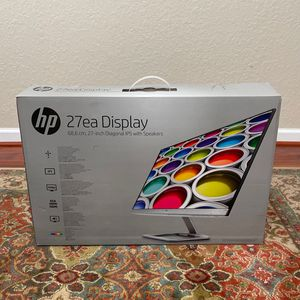 HP 27 EA DISPLAY W/ built In Speaker System for Sale in Hollywood, FL