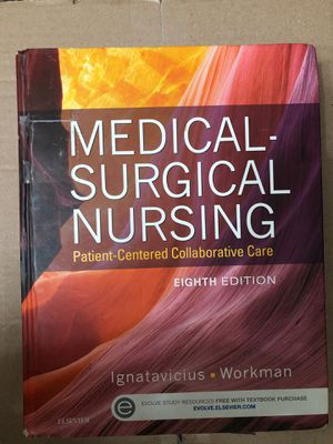 Medical Surgical Nursing- Ignatavicius 8th Ed for Sale in Anaheim, CA