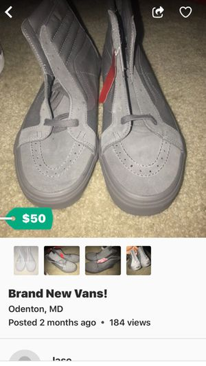 Brand New Vans NEVER WORN for Sale in Odenton, MD