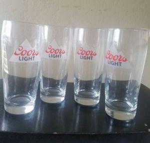 Coors Light Drinking Glasses for Sale in Phoenix, AZ