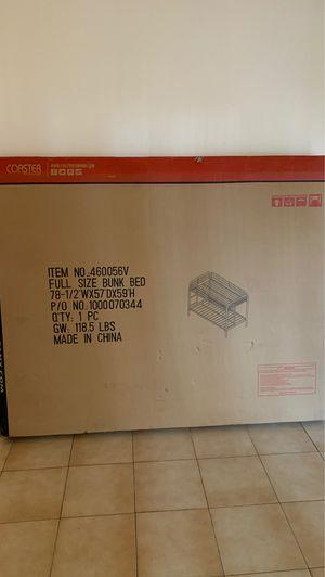 Bunk bed frame (full size) for Sale in Pembroke Pines, FL