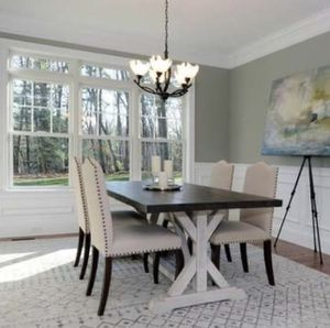 Black copper 5-light chandelier for Sale in Northborough, MA
