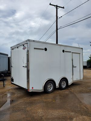 Enclosed car hauler 8.5x16 for Sale in Fort Worth, TX