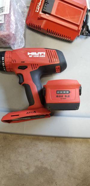 Hilti sf 10w-a22 drill for Sale in Columbus, MN
