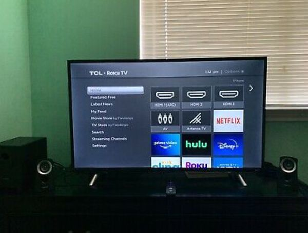 """TCL S305 Series 43S305 43"""" 1080p LED Smart TV With Roku"""