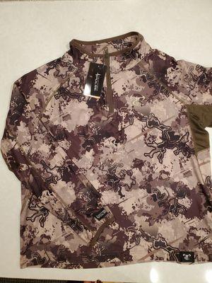 NEW Truetimber Pulse Camo Youth/Kids XL Hunting Shirt Sweatshirt for Sale in Milton, WA