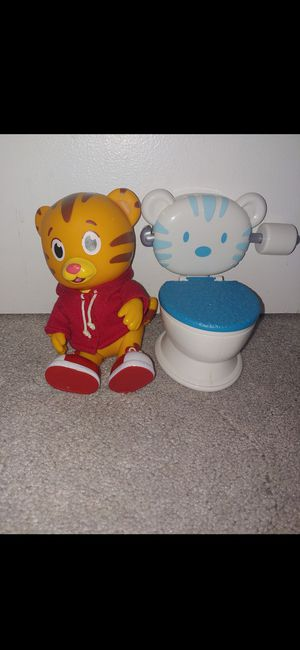 Daniel tiger potty toy - Super cute - Please make offer for Sale in Cromwell, CT