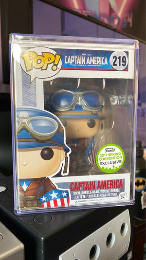 FUNKO POP! Captain America The First Avenger #219 for Sale in Rancho Cucamonga, CA