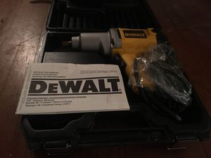 DeWalt DW292 Impact Wrench with Detent Pin Anvil for Sale in Dearborn, MI