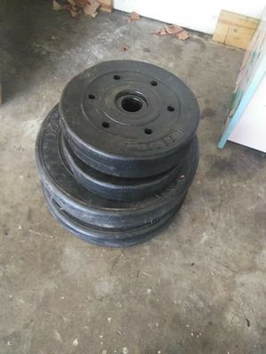 Wights do need them 55 pounds in 4 weights for Sale in San Jose, CA