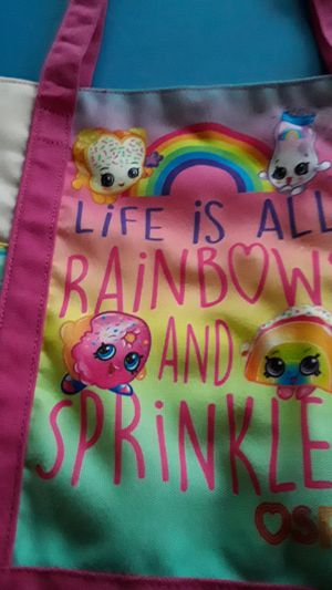 Shopkins bag $5.00 for Sale in San Antonio, TX