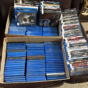 Huge Lot Of 200+ Blu-Rays In Original Cases No Trash Titles for Sale in Virginia Beach, VA