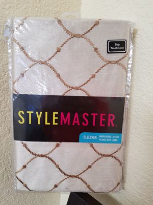 Curtain -valance for Sale in Lathrop, CA