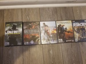 5 Brand New Never Used PC Games for Sale in Virginia Beach, VA