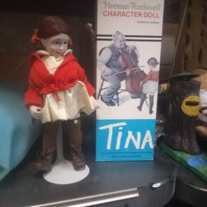 Norman Rockwell Character Doll Tina for Sale in Las Vegas, NV
