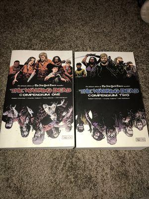 The Walking Dead: Compendium 1 & 2 comics for Sale in Davenport, IA