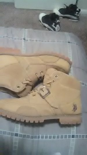 U.s.p.a polo boots size 8.5 for Sale in Denver, CO