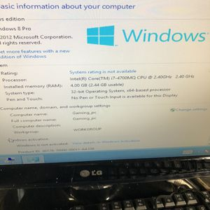 Lenovo z710 ideapad for parts for Sale in Los Angeles, CA